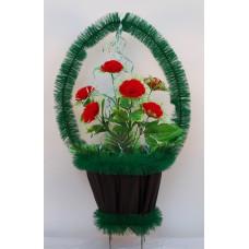 Корзина ритуальная Роза