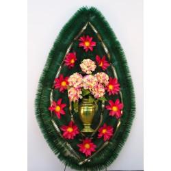 Венок ритуальный ваза 142 ФБУ