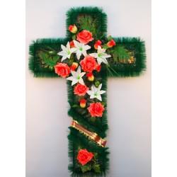Венок  ритуальный крест