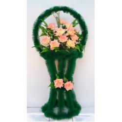 Корзина ритуальная ваза с птичками