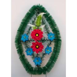 Венок ритуальный малый с ершом 38 ФМУ