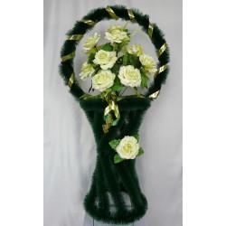 Корзина ритуальная ваза