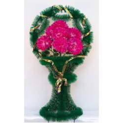 Корзина ритуальная хризантема