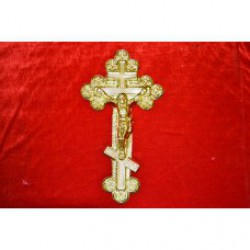 1,7 Крест ажурный с распятие  уп 50шт